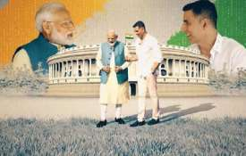 Akshay kumar has done video interaction with Pm...- India TV