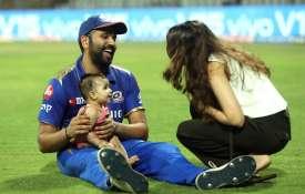Rohit Sharma Dedicate his Half Century to...- India TV
