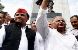 Mulayam Singh Yadav and Akhilesh Yadav- India TV