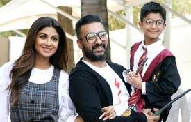 शिल्पा शेट्टी कुंद्रा और राज कुंद्रा के बेटे वियान- India TV