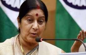 श्रीलंका, पुलवामा हमलों ने भारत को आतंकवाद से लड़ने के लिए और प्रतिबद्ध बनाया: स्वराज- India TV