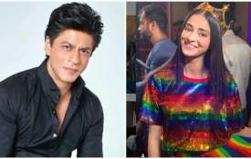 Shahrukh khan and ananya panday- India TV