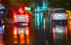 Weather turns pleasant in Delhi-NCR, rains bring relief from scorching heat- India TV