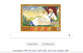 <p>Google Doodle of Omar...- India TV