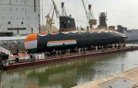 Fourth Scorpene Submarine INS VELA launched at Mazagaon Dock Limited   AIR- India TV
