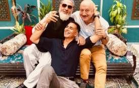Akshay kumar, anupam kher and Gulshan grover- India TV