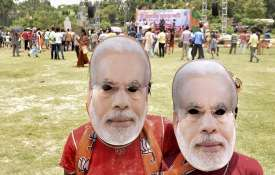 modi mask- India TV