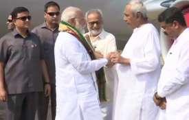 PM Narendra Modi and Odisha CM Naveen Patnaik   ANI- India TV