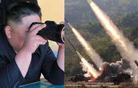 Kim Jong Un and Korean Missiles | AP Photo- India TV
