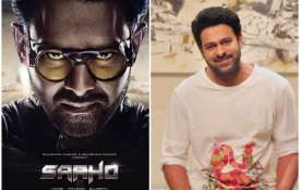 Saaho Official poster- India TV