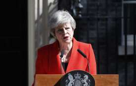 <p>British Prime Minister Theresa May...- India TV
