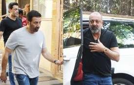 Bollywood celebs reaching Ajay Devgn Kajol house - India TV