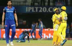 चेन्नई सुपर किंग्स बनाम दिल्ली कैपिटल्स - India TV