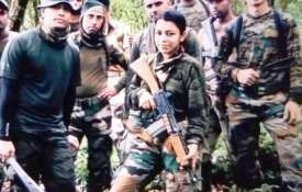 Indian Army lady officer lives upto 'Service Before Self', accompanies troops through inhospitable t- India TV