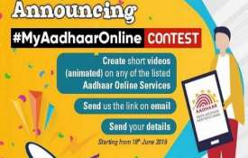 Aadhaar Online Contest- India TV