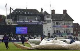 इंग्लैंड के खराब मौसम की गाज आज भारतीय टीम पर भी ग- India TV