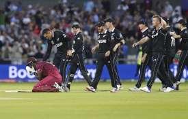 WI vs NZ Match 29: ब्रैथवेट की शतकीय पारी बेकार, सांसे रोक देने वाले मुकाबले में न्यूजीलैंड ने वेस्ट- India TV