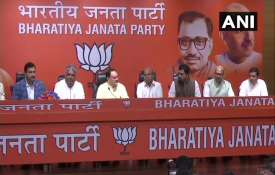 BJP's press confrence - India TV