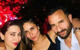 Kareena Kapoor Khan, Saif Ali Khan, Karisma Kapoor- India TV