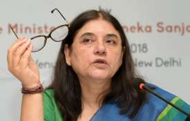 Maneka Gandhi visits Sultanpur, says people will answer why she was dropped from cabinet   PTI File- India TV