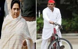 <p>Mayawati and Akhilesh...- India TV