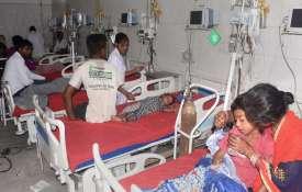 Children showing symptoms of Acute Encephalitis...- India TV