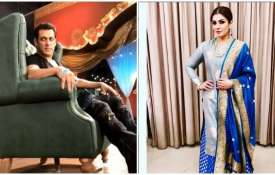 Salman khan and Raveena tondon- India TV