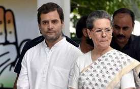 Rahul Gandhi and Sonia Gandhi File Photo- India TV