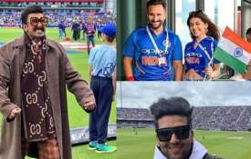 India vs Pakistan: Bollywood stars cheer for Team India- India TV