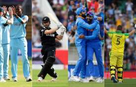 इंग्लैंड, न्यूजीलैंड, भारत और ऑस्ट्रेलिया - India TV