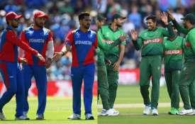 विश्व कप 2019 प्रीव्यू: पहली जीत के लिए बांग्लादेश से भिड़ेगा अफगानिस्तान- India TV