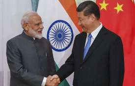 PM Modi Meet Xi Jingping- India TV