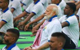 Pm Modi, yoga day- India TV
