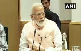 PM Modi interacts with economists, industry experts ahead of Budget 2019 organized by NITI Aayog - India TV