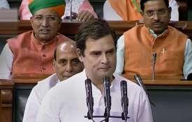 राष्ट्रपति के अभिभाषण के बाद बोले राहुल, मेरा रुख आज भी वही, राफेल सौदे में चोरी हुई- India TV