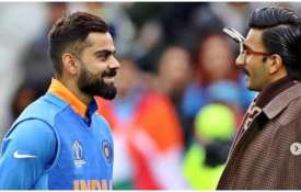 Virat Kohli and Ranveer Singh- India TV
