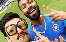 Ranveer Singh with Hardik Pandya- India TV