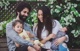 Shahid Kapoor and Mira Kapoor with kids- India TV