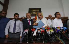 Easter bombing: 9 Muslim Ministers and two Governors step down in Sri Lanka   AP- India TV