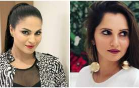 Veena malik and Sania mirza- India TV