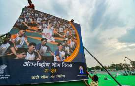 International Yoga Day in Ranchi- India TV
