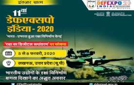 11th DEFEXPO INDIA- 2020 - India TV