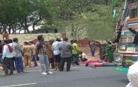 Women, children among 11 dead in road accident in...- India TV