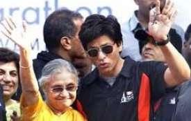 sheila Dikshit and shahrukh khan- India TV