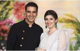 Akshay kumar and Twinkle khanna- India TV