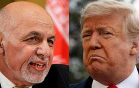Ashraf Ghani and Donald Trump | AP Photos- India TV