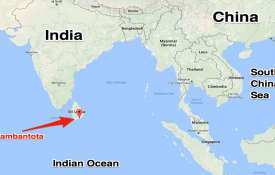 Sri Lanka launches new official map featuring Chinese investments- India TV