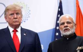 India rejects US president Donald Trump's comment on Modi seeking mediation on Kashmir | AP File Pho- India TV