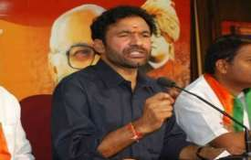 Union Minister of State for Home G. Kishan Reddy- India TV