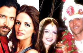 Hrithik Roshan and Sussanne Khan- India TV